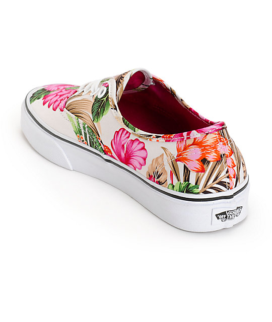 c8c863aa665 Vans Authentic Hawaiian Floral Shoes  Vans Authentic Hawaiian Floral Shoes  ...
