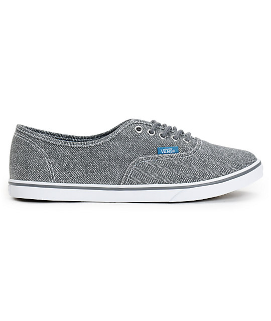 86b7995386 ... Vans Authentic Lo Pro Castlerock Grey HB Print Shoes