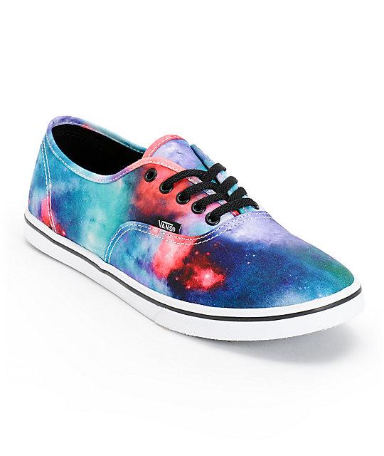 vans authentic galaxy blue