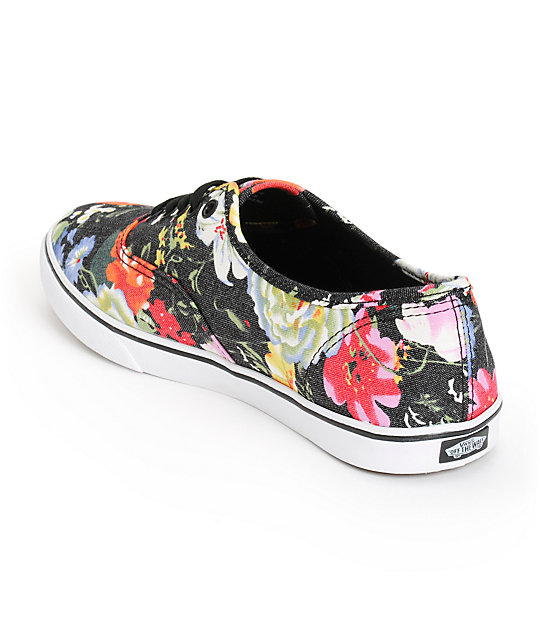 407bc8877e2edc Vans Authentic Lo Pro Floral Shoes