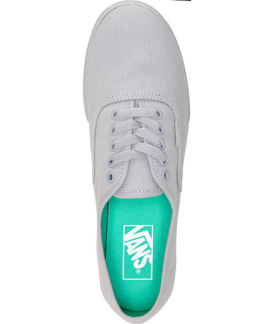 Vans Authentic Lo Pro Monotone Sleet Shoes