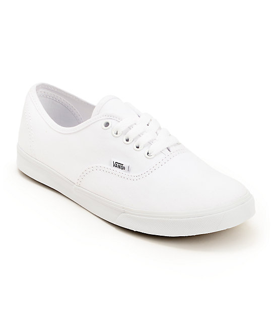 vans shoes women white