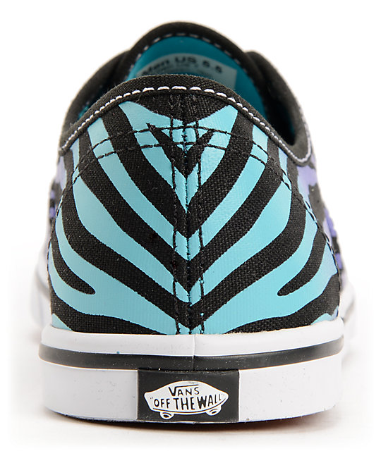952e04726e ... Vans Authentic Lo Pro Zebra Fade Shoes ...