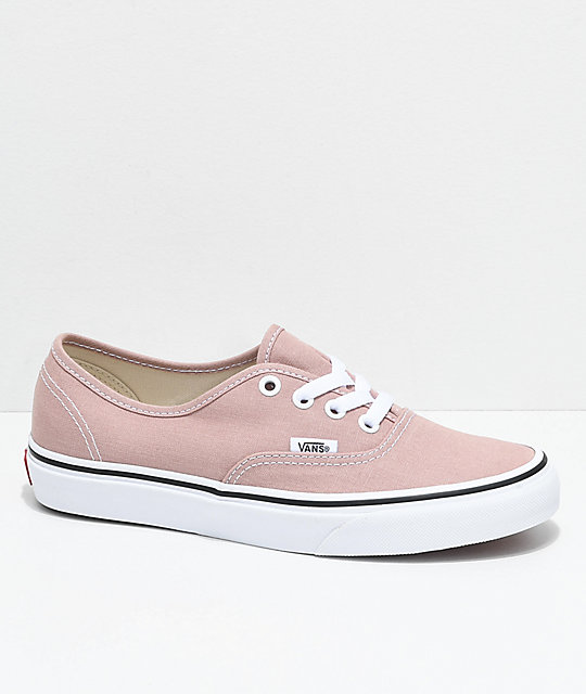 vans authentic pink