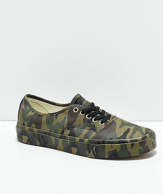 vans camouflage