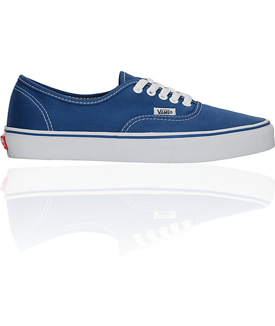 Vans Authentic Navy Skate Shoes