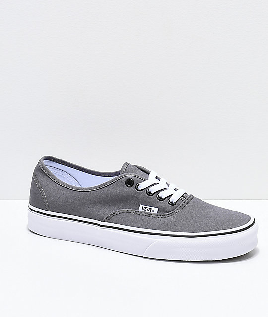 70a86b7b1a9 Vans Authentic Pewter