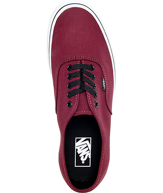 23f011a9b6 ... Vans Authentic Port Royale and Black Skate Shoes ...