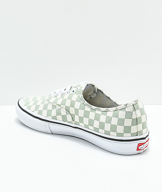 Vans Authentic Pro Sage zapatos de skate a cuadros