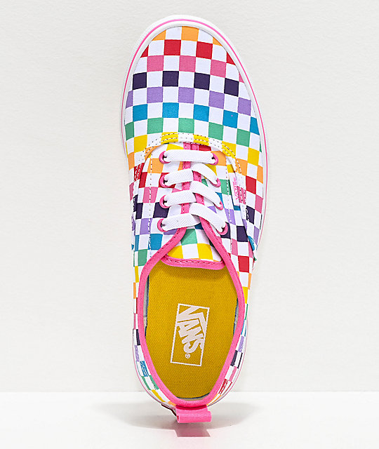 buy \u003e rainbow lace vans, Up to 74% OFF