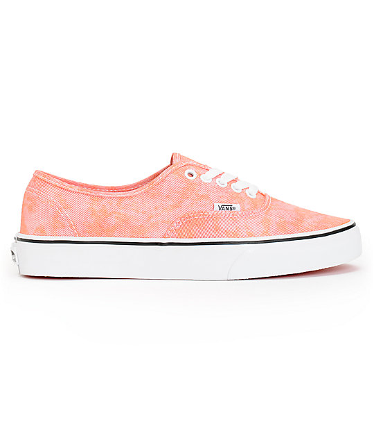 Vans Authentic Sparkle Coral Shoes