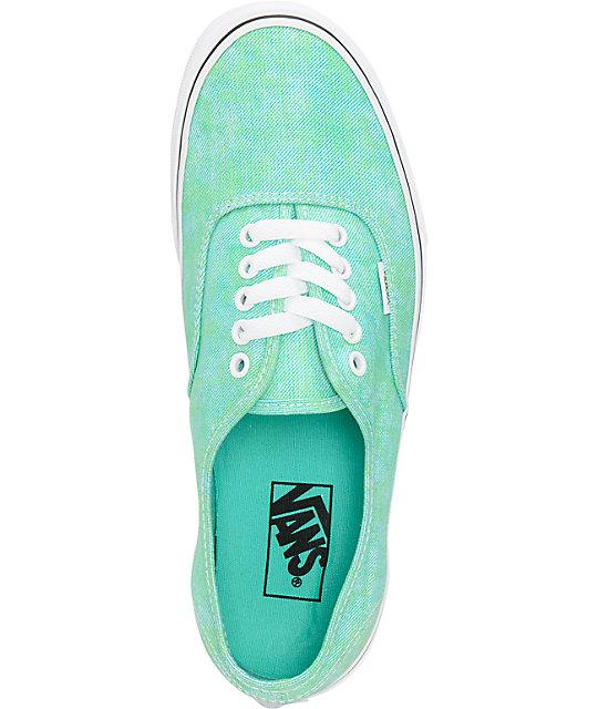4c2a08ce1c ... Vans Authentic Sparkle Mint Shoes ...