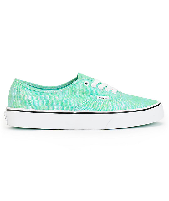 cda1e941d7 ... Vans Authentic Sparkle Mint Shoes