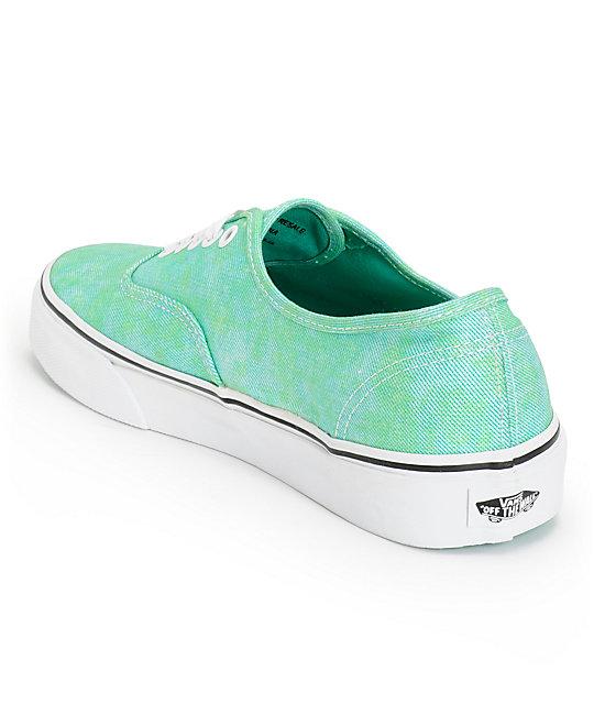 77aefccb8e Vans Authentic Sparkle Mint Shoes  Vans Authentic Sparkle Mint Shoes ...