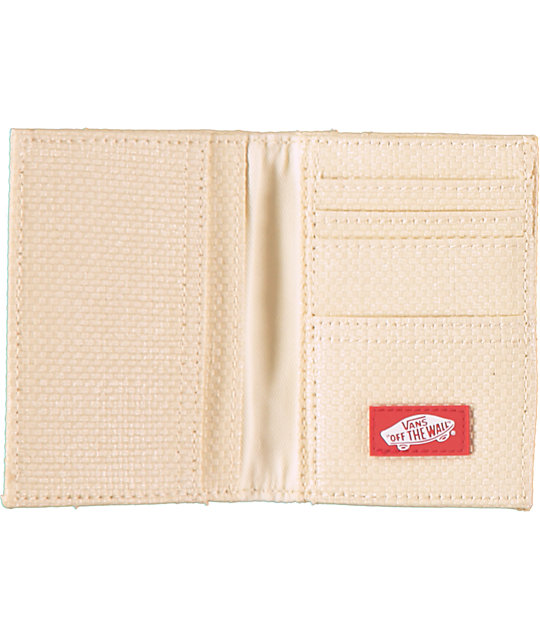 Vans Authentic Straw Bifold Wallet
