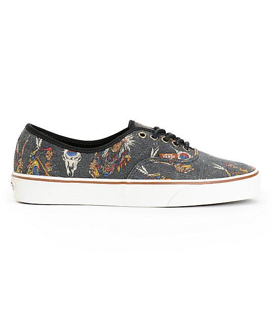 909623710af950 ... Vans Authentic Tribal Leaders Skate Shoes