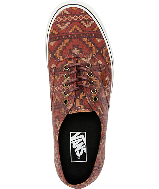 Vans Authentic Tribe Skate Shoes