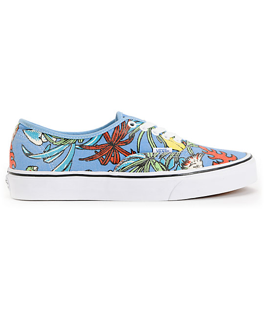 Vans Authentic Van Doren Parrot Blue Skate Shoes