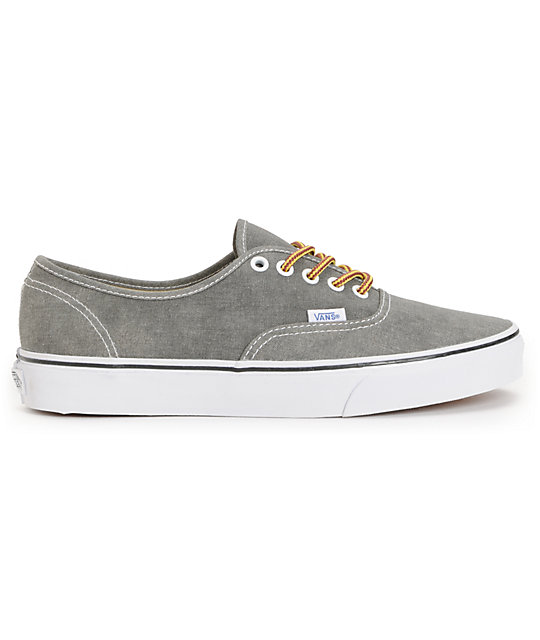 Vans Authentic Washed Duffle Skate Shoes
