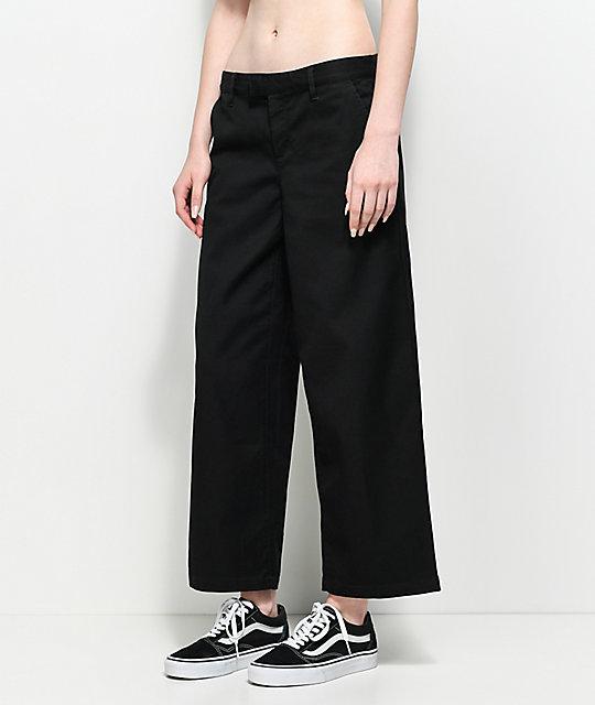 d094deae59 Vans Authentic Wide Leg Black Pants