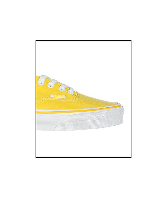 Vans Authentic Yellow Shoes