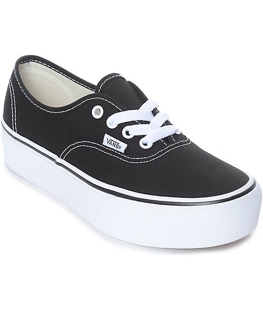 zapatos vans plataforma