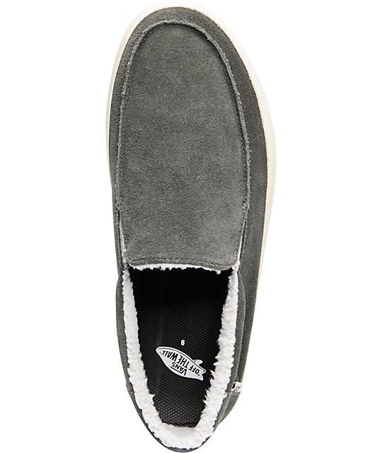 1e4b341f057442 ... Vans Bali Beluga   Turtledove Fleece Skate Shoes ...