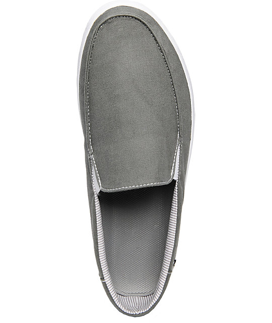 Vans Bali Charcoal Slip-On Skate Shoes