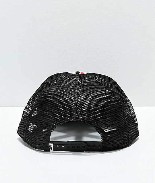 Vans Beach Bound Checkerboard Snapback Hat