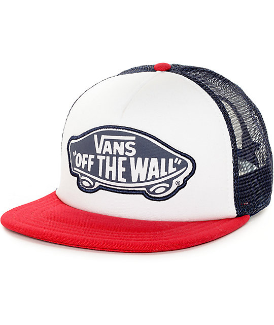 530598c798 Vans Beach Girl Chili Pepper Trucker Hat