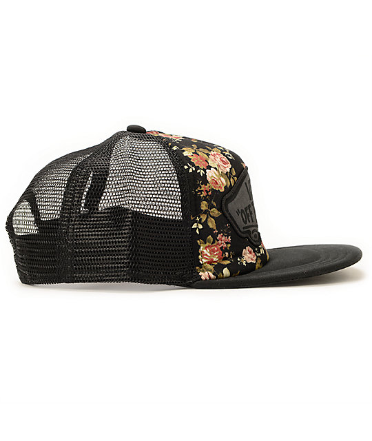 2c6968d002a ... Vans Beach Girl Floral Trucker Hat