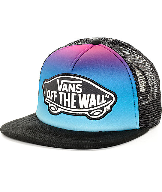 48d8c731de3 Vans Beach Girl Gradient Festival Trucker Hat