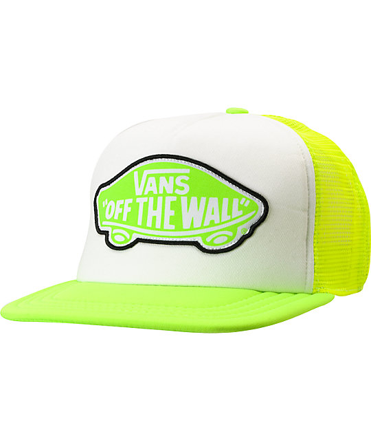 Vans Beach Girl Neon Trucker Hat