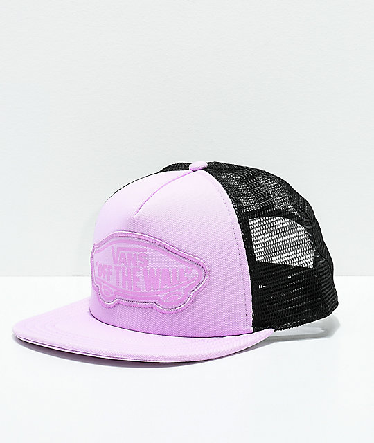 3f3f12ded63 Vans Beach Girl Orchid Bouquet Snapback Hat
