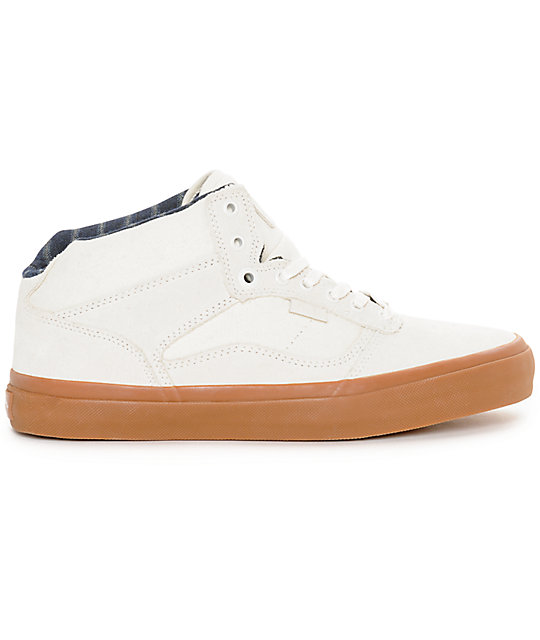 Vans Bedford Marshmallow & Gum Skate Shoes