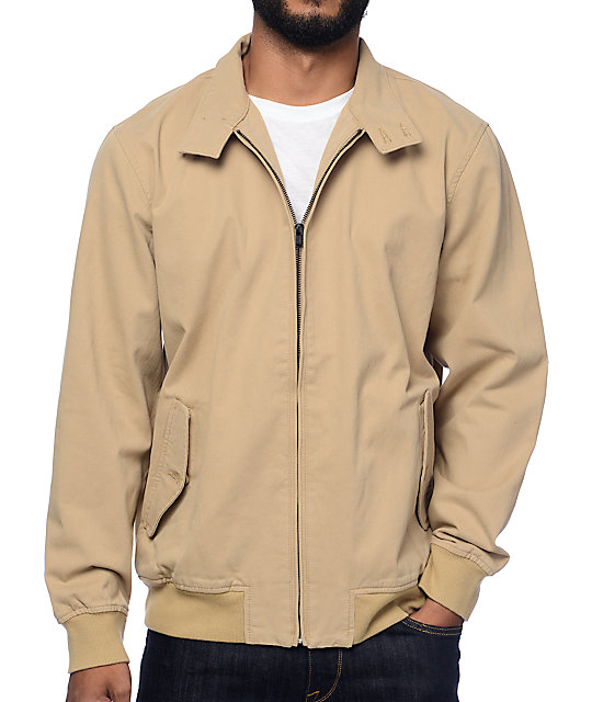 vans beige jacket