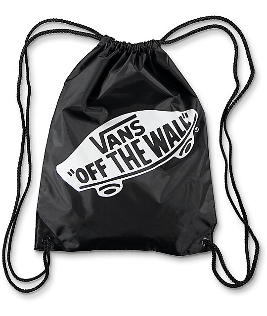 392a90374572 Vans Benched Onyx Cinch Bag