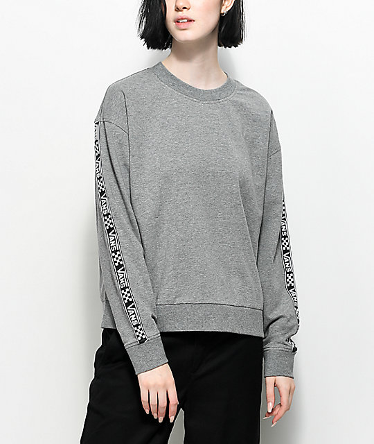 Vans Bishop Heather Grey Crew Neck Sweatshirt