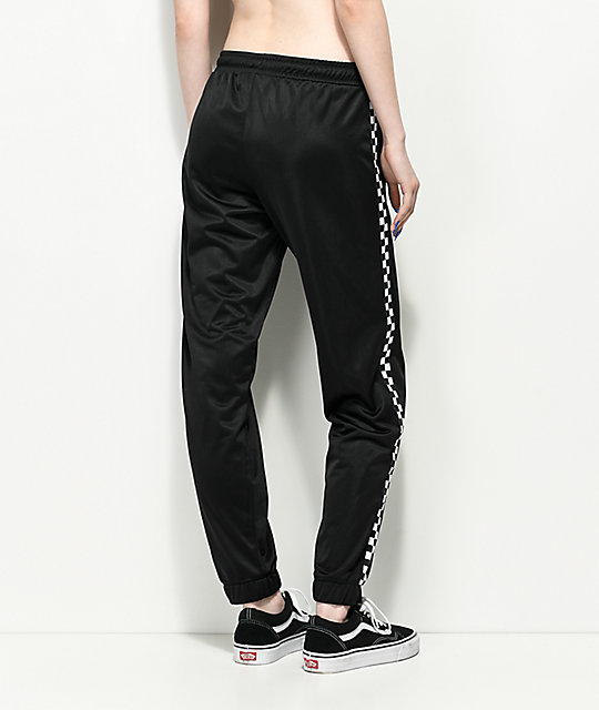 Vans Black & White Checker Track Pants