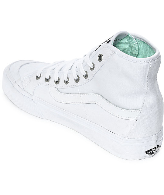 eb2bd2179b6b16 ... Vans Black Ball Hi SF White Shoes ...