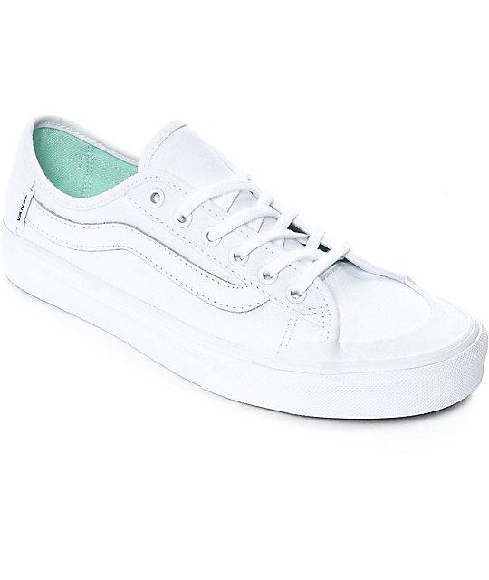 Vans Black Ball SF White Shoes  bfaddadea