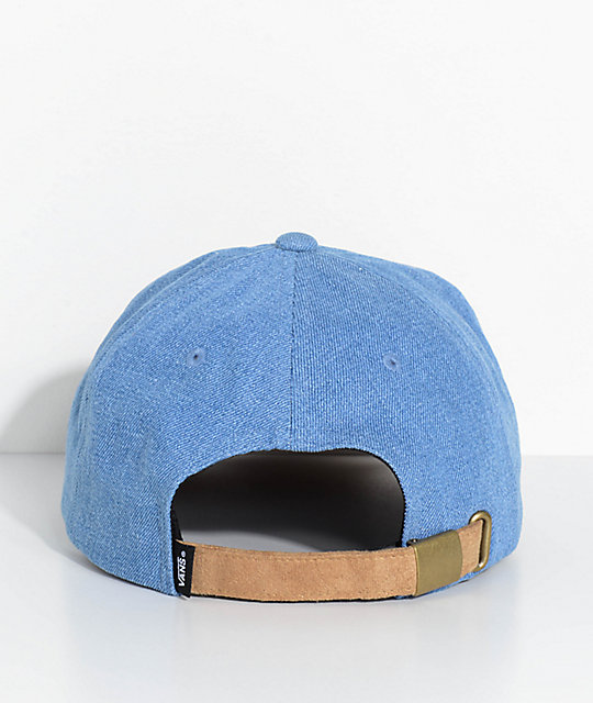 Vans Blaine Jockey Denim Baseball Hat