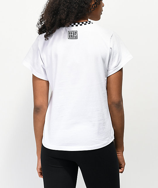 Vans Blender Bender White Muscle Top