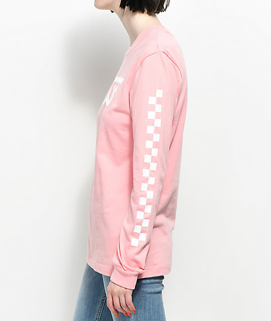 Vans Blossom Pink Long Sleeve T-Shirt