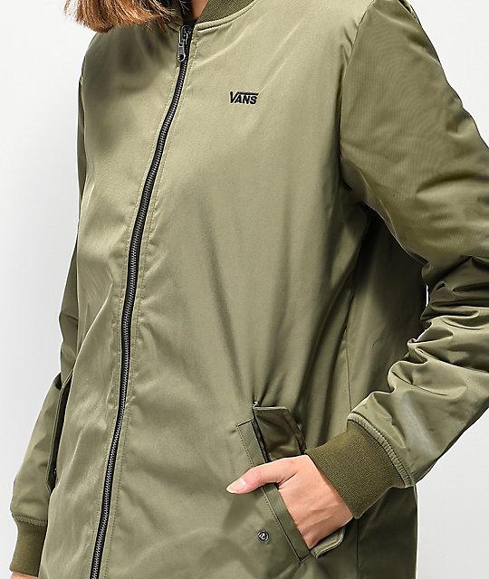 2vans abrigo impermeable mujer