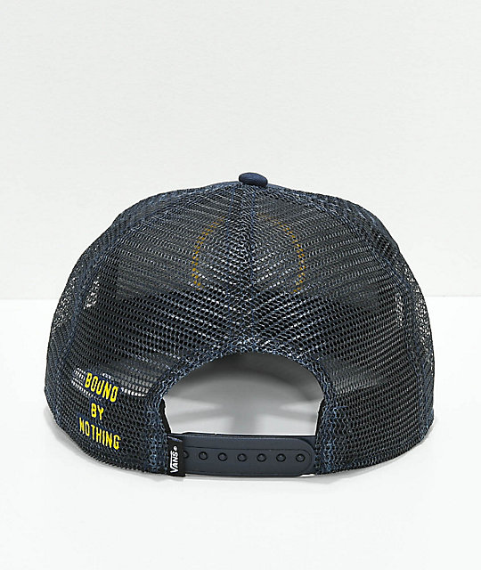 Vans Bound By Nothing Blue Snapback Hat