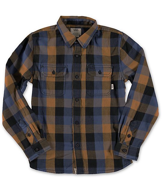 Vans Boys Alameda Flannel Shirt