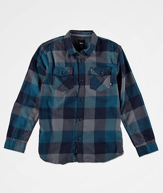 30ac217590 Vans Boys Box Corsair Flannel Shirt
