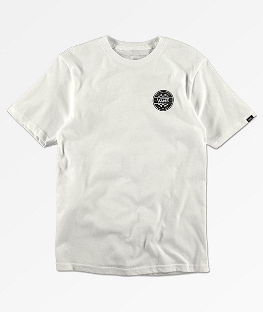 fb7fafff Vans Boys Checker Co. White T-Shirt | Zumiez.ca