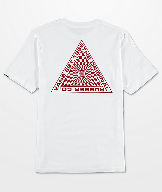 Vans Boys Hypnotics White T-Shirt